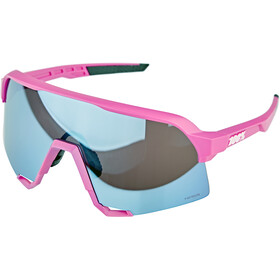 100% S3 Glasses pink/hiper mirror